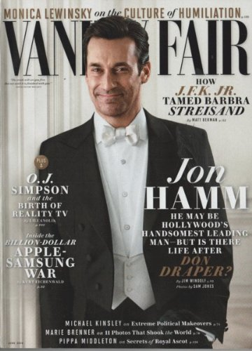 (Vanity Fair Magazine (June, 2014) Jon Hamm)