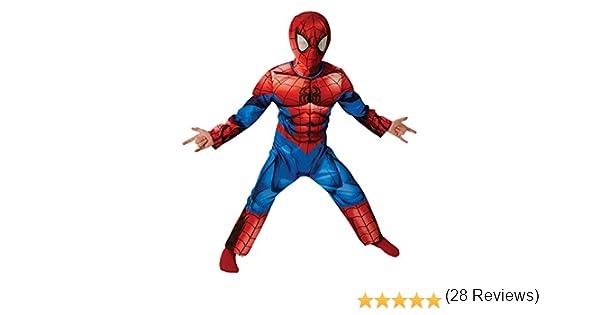 Marvel Spider-Man Deluxe último Clásico - Traje de Niño - Pequeños ...