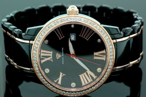Aqua Master Mens Classic Diamond Watch W320a by Aqua Master