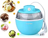 SunSir Mini (0.6 Quart/ 0.6L) Automatic Ice Cream Maker, Frozen...