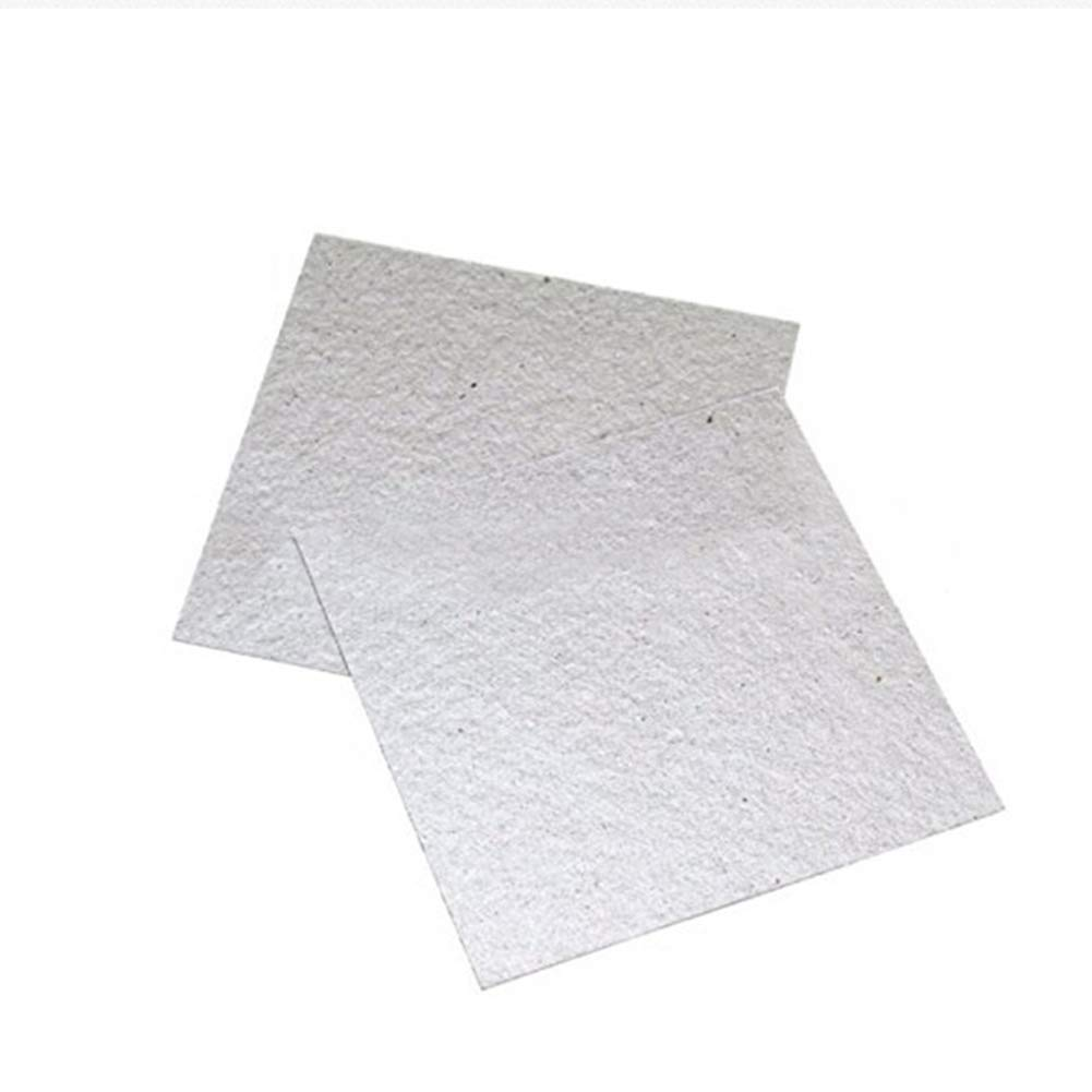 AC8grg 4Pcs//Set 13X13CM Thicken Insulation Mica Sheets for Microwave Oven Repairing
