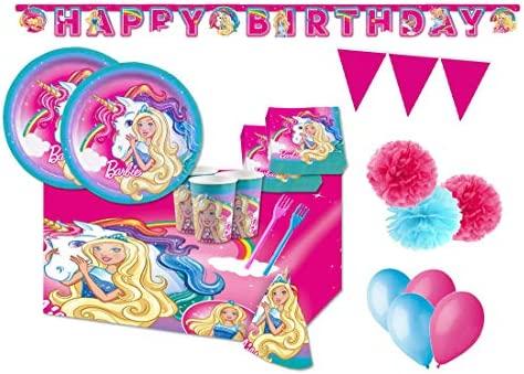 pro cos Kit 54 F Fiesta de cumpleaños de Barby: Amazon.es ...