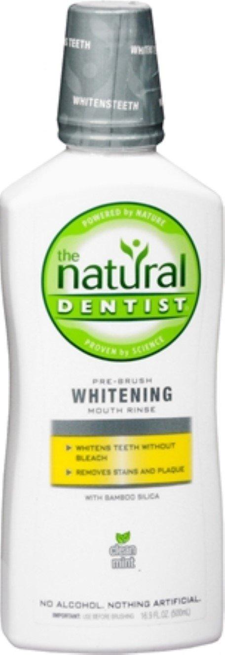 The Natural Dentist Pre-Brush Whitening Antigingivitis Rinse Clean Mint 16.90 oz (Pack of 10) by Natural Dentist (Image #1)