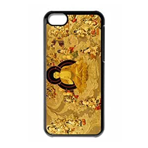 Custom Buddha Hard Protective Back Cover Case for iPhone 5C