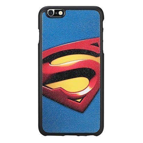 Iphone 6 Plus Case [Non-slip][high Quality Polycarbonate Materiais]iphone 6 (5.5)case [Tin Fit A] Superman (Blue)