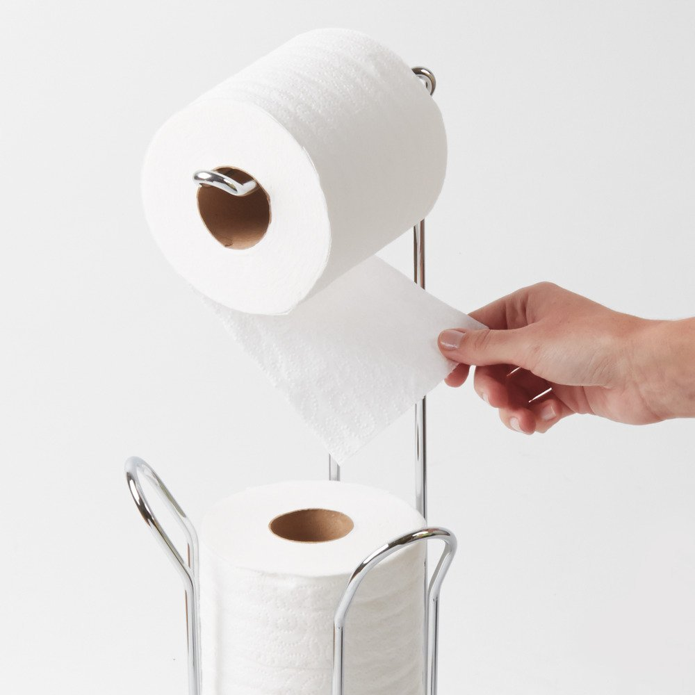 Standing toilet paper holder bathroom standing toilet paper holder 100 unique toilet paper - Brushed nickel standing toilet paper holder ...