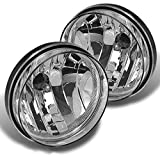 seat covers for 94 chevy truck - V-Spec 94-01 Dodge Ram 1500 2500 3500 Pickup Clear Lens Bumper Fog Lights+Bulbs CH2593120, CH2592120 55076940AB, 55076941AB
