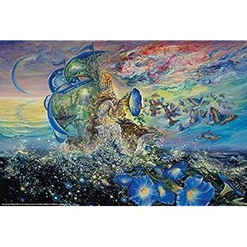 ART PRINT Bubble World Josephine Wall 24x36 Teleky