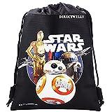 Disney Star Wars Robot BB Authentic Licensed Drawstring Bag Backpack (Black) Review
