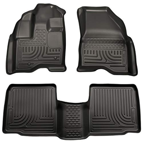 Husky Liners Front & 2nd Seat Floor Liners Fits 11-14 Explorer (Young The Giant Mind Over Matter Vinyl)