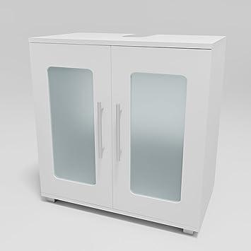 VICCO Waschtischunterschrank RAYK Weiß matt - Badschrank ... | {Badschrank weiß stehend 41}