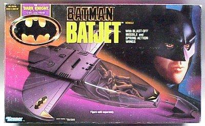 Batman Dark Knight Collection BATJET by Kenner