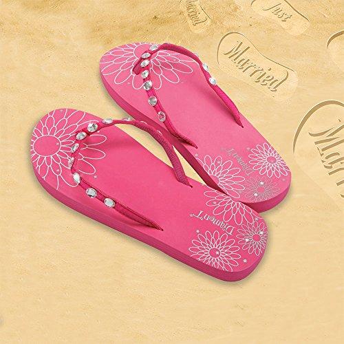 Diamon t - Sandalias de Caucho para mujer Rosa rosa