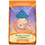 Blue Buffalo Weight Control Natural Adult Dry Cat Food, Chicken & Brown Rice 15-lb