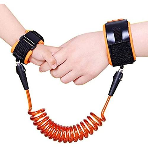 Mousand Anti Lost Safety Wrist Link For Baby Child,with extra long Harness Strap Walking Hand Belt
