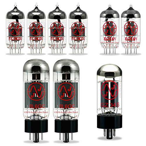 JJ Tube Upgrade Kit For Fender 65 Super Reverb Reissue & (Blackface) Super Reverb Amps w/6L6GC ECC83S ECC81 GZ34 by J.J.