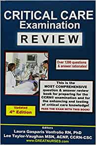 Critical Care Examination Review Revised: 9780962724695