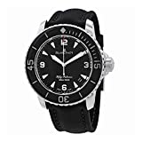 Blancpain Fifty Fathoms Automatique Black Dial Mens Watch 5015-1130-52A