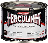 Herculiner HCL1B7 Brush-on Bed Liner - 1 Quart (32 Ounces) Black