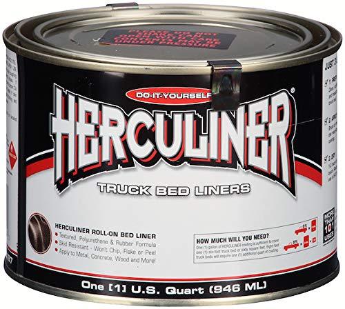 (Herculiner Truck Bed Liner, Black, 1 Quart)