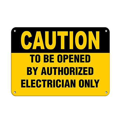 Hearing Protection Required Beyond This Point Hazard Sign Aluminum Metal Sign 9 in x 12 in Custom Warning & Saftey Sign Pre-drilled Holes for Easy mounting]()