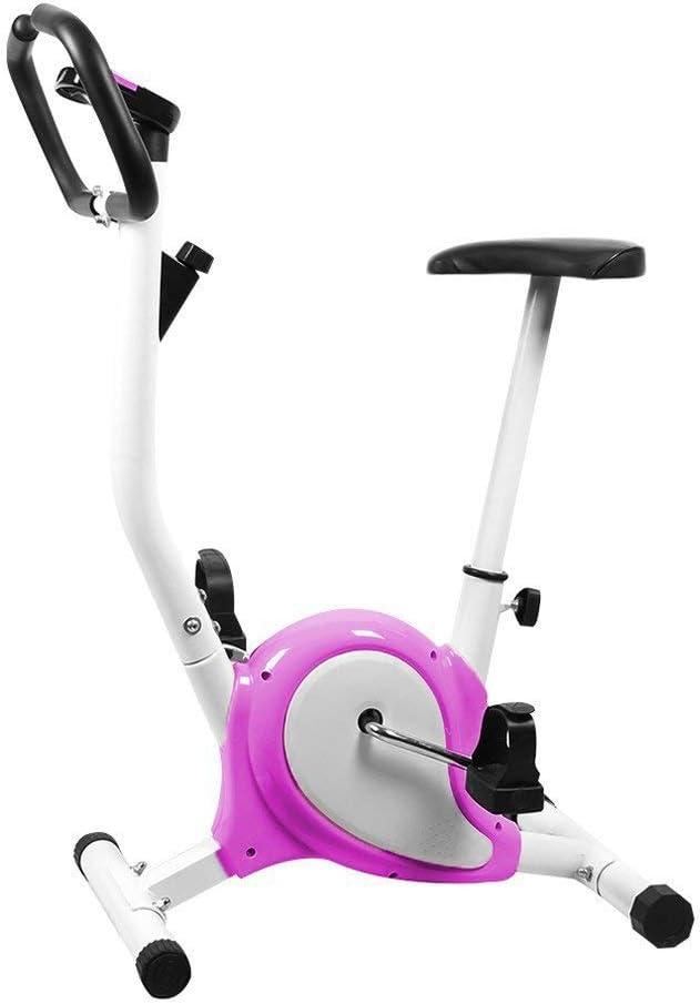 Lsooyys Bicicleta Estática Plegable Ejercicio Deportivo Ultra Silencioso Ciclismo Indoor Bicicleta de Fitness para Adultos de Ciclo con Pantalla LED Universal Equipo de Ejercicio en Casa