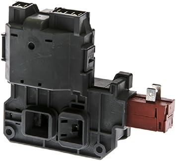 Compatible with 131763202 Door Lock Switch /& 131763310 Door Strike 131763202 Washer Door Latch /& 131763310 Door Striker Replacement for Frigidaire FFFS5115PA0 Washing Machine
