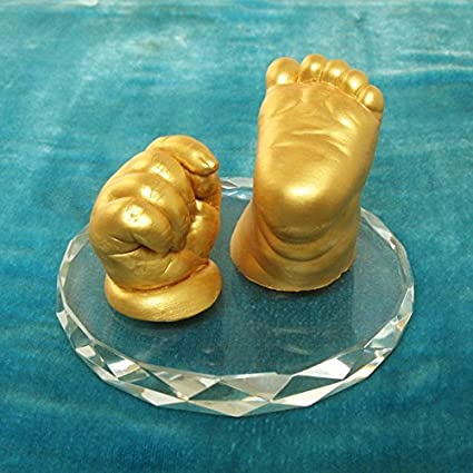 babies bloom 3d baby casts that you can touch with glass kit amazon