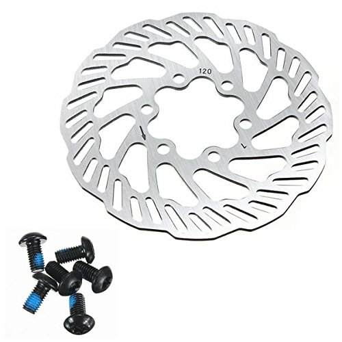 Cycling Bicycle Bike Brake Disc Rotors 120mm/140mm/160mm/180mm/203mm With Bolts ( 120mm - 11 Park City Utah 7