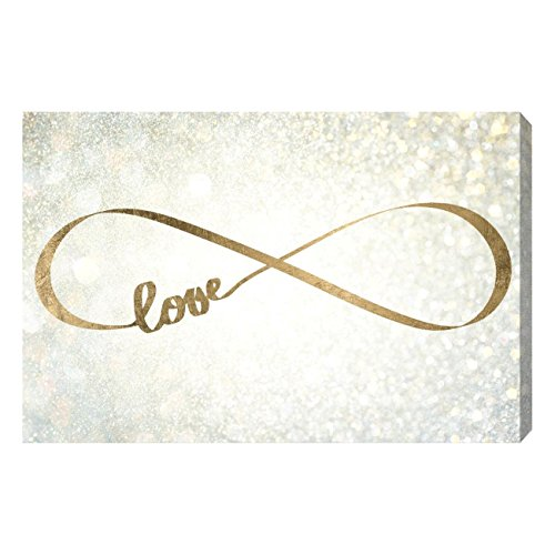The Oliver Gal Artist Co. 'Sparkle Love' Canvas Art, 30''x20'' by The Oliver Gal Artist Co.