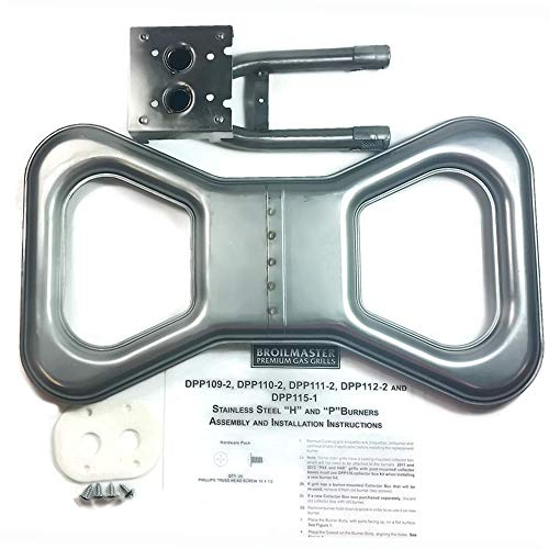 Stainless Steel Bowtie Burner Kit - DPP111