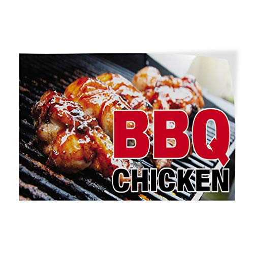 - BBQ Chicken #1 Indoor Store Sign Vinyl Decal Sticker 8