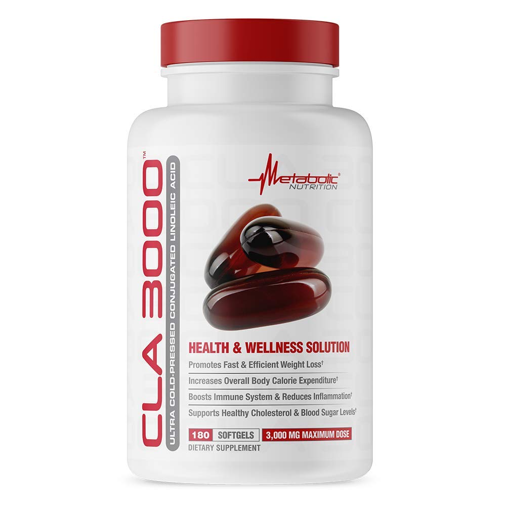 Metabolic Nutrition CLA 3000 (180 Count)