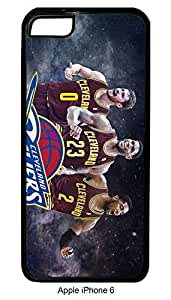 Cavs Big 3 #2 Iphone 6 Hard Case Custom Lebron James Kevin Love Kyrie Irving Cavaliers Cleveland (Black)