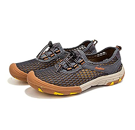 ZHANGYUQI Zapatos de malla de ocio al aire libre de la tendencia de la moda de