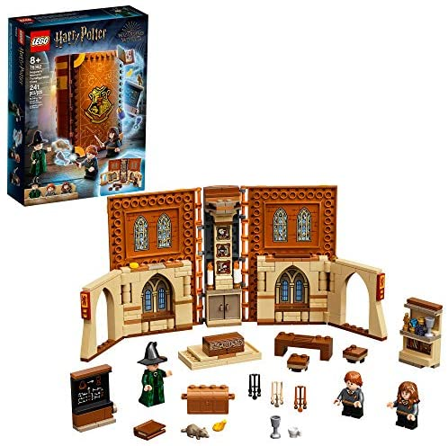 LEGO Harry Potter Hogwarts Moment: Transfiguration Class 76382 Professor McGonagall Room; Collectible Playset, New 2021 (240 Pieces)