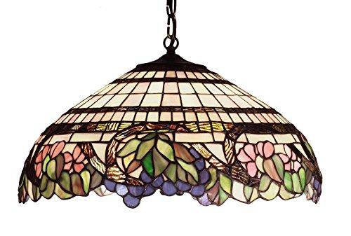 18 Inch W Handel Grapevine Pendant , Ceiling Fixture , (Meyda Handel Grapevine)