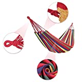 BeiLan Colorful Multifunctional Hammock Cotton