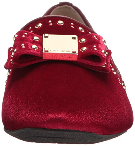 Cole Haan Women's Tali Bow Stud Loafer Red Velvet qRpiQQw