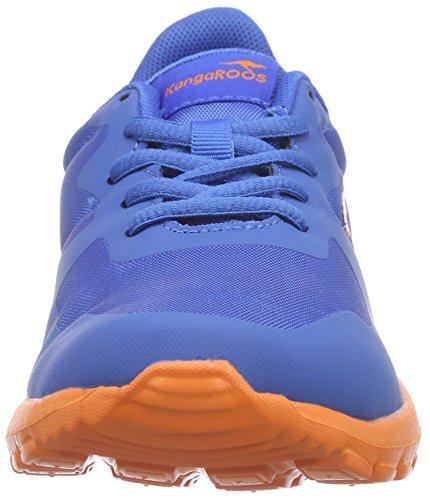 KangaROOS K-x 2222 - Zapatillas Unisex Niños Azul - azul (royal azul/naranja 476)