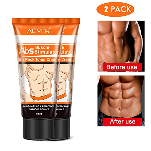 Hot Sweat Cream, Extreme Cellulite Slimming & Firming Cream, Body Fat Burning Massage Gel Weight Losing, Hot Serum Treatment for Shaping Waist, Abdomen and Buttocks Legs 60ml