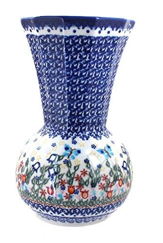 Polish Pottery Garden of Eden Vase