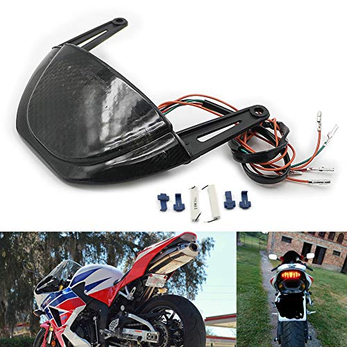 - Motoparty Rear Tail Light Brake Turn Signals Integrated For Honda CBR600RR 2007-2012 CBR 600 RR CBR600 600RR Rear Tail LED Light