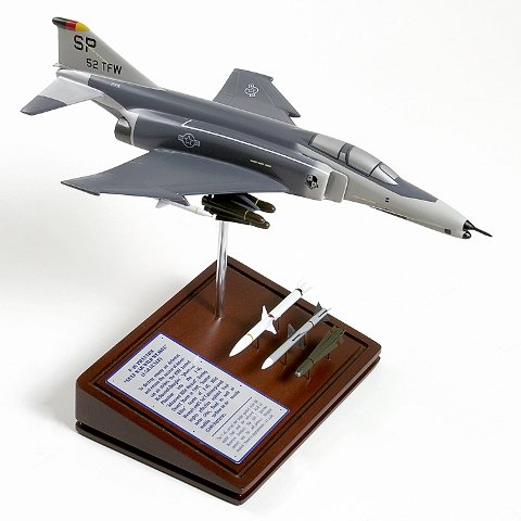Phantom Douglas F Mcdonnell 4 (Mastercraft Collection Planes and Weapons Series McDonnell Douglas F-4G PHANTOM Model Scale:1/58)
