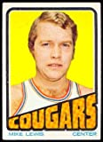 1972 Topps Regular (Basketball) Card# 234 Mike Lewis of the Carolina Cougar Ex Condition