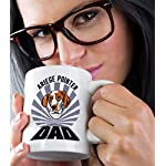 Custom Funny Coffee Mug Coffee Cup Dad Ariege Pointer Dog White Ceramic Tea Cup 11 OZ Design Only 13