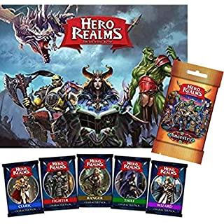 Hero Realms Super Bundle - Base Game, 5 Character Packs and Ancestry Expansion