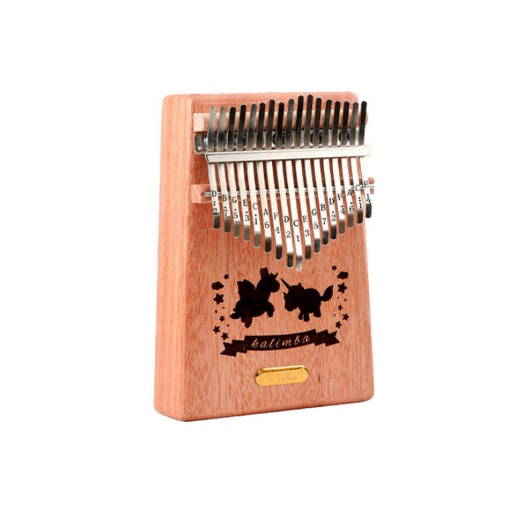 Youshangshipin Kalimba, 17-tone African Finger Piano, Children's Adult Professional Playing Beginner Musical Instrument,(Style 6, There Are A Variety Of Styles To Choose From) (Edition : Style 8)