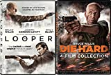 Die Hard Bruce Willis Collection & Looper - Special movie 2 Pack Action Set