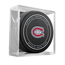 Sherwood Hockey 511AN000061-X Montreal Canadiens Puck In Cube